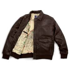 the army air corps leather flight jacket1