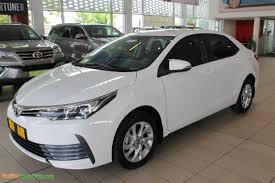 2018 Toyota Corolla le Brand New Toyota - Corolla 1.6 Prestige ...