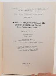 Geolog by Ivan Franklin Wilson; Victor S. Rocha: Very Good Paperback (1957)    Flamingo Books