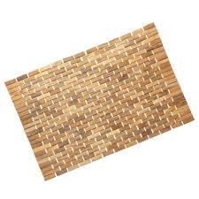Bamboo Bath Mats Bamboo Bath Mat Splashy Bamboo Bath Mat In Bathroom With  Bathroom Home Improvement