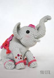 Crochet Stuffed Elephant Pattern Unique Inspiration Design