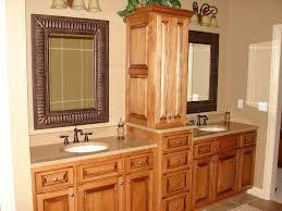 bathroom corner vanity cabinets. Image Of: Bathroom Corner Linen Cabinets Vanity