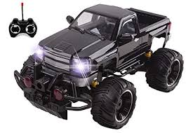 Amazon.com: Big Wheel Beast RC Monster Truck Remote Control Doors ...