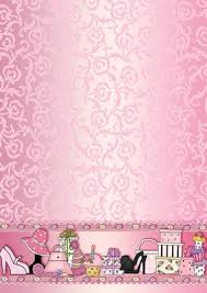 girly borders for microsoft word pink girly accessories backing paper cup167914_422 craftsuprint