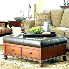 square ottoman coffee table with storage square tufted coffee table tufted