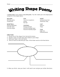 Concrete Poetry Worksheet Worksheets for all   Download and Share ...