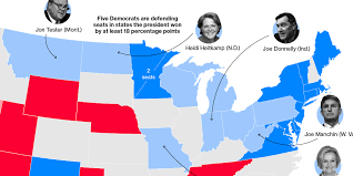 Midterm Elections 2018 Results Chart History And Polling Point To Sweeping Democratic House Gains