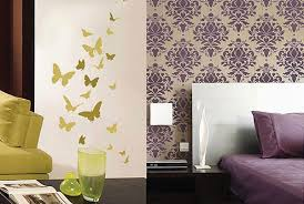 Small Picture Decorating Home Walls in Stencils