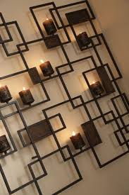 trend metal wall art candles for orange and blue how to make decor trend candl