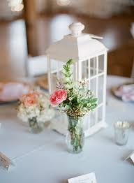 Back to Main Wedding Centerpieces Gallery Casual Garden Flowers in Glass  Vase - lexiafrank.