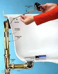 bathtub drain lever won t stay down bathtub bathtub drain lever wont stay down bathtub drain lever