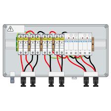 pv combiner box 1000vdc 30a ip66 2 2str 2 t2 15a fuse connector