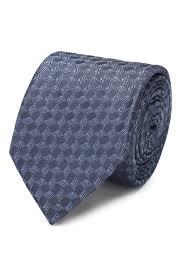 Мужской голубой <b>шелковый галстук HUGO</b> — купить за 4400 руб ...