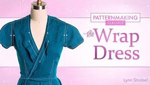 Wrap Dress Pattern Beauteous Patternmaking A Wrap Dress Online Class Craftsy