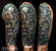 волк значение татуировок в россии Rustattooru