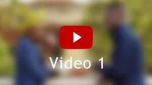 cv video template