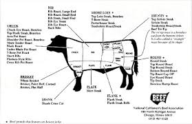 Cow Parts Chart The Nibble Beef Cuts