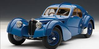 In 1936, bugatti developed the type 57 sc coupé, a sports car that is still considered one of the most beautiful in automobile history. 1 18 Autoart 1938 Bugatti 57 Sc 57sc Atlantic Blue With Blue Metal Wire Spoke Wheels Diecast Car Model 70942 Livecarmodel Com