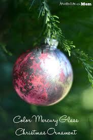 colored mercury glass ornaments