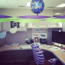 Cubicle Decorations For Birthday Decorating Work Cubicle For Birthday Decorating Ideas