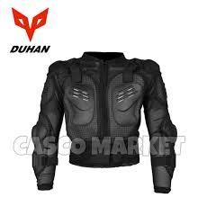 duhan moto fox armor motorcross mx off road gear one size adjule full armor jacket