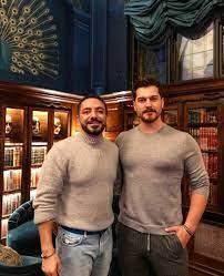 "Çağatay Ulusoy WF on Twitter: ""Çağatay Ulusoy and İsmail Polat on  Photoshooting for HELLO! Magazine in L'oscar, London @cagatayulusoyy… """