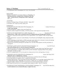 Post Graduate Resume Magnificent Wickham PostGrad Resume