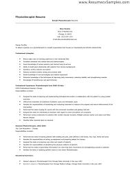 Resume Format For Physiotherapist Job Cover Letter Samples Earpod Co