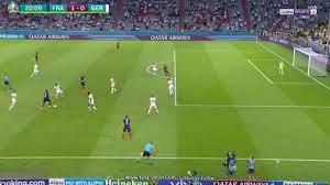 هدف فرنسا في المانيا أمس | ملخص مباراة فرنسا والمانيا كامل في امم اوروبا  2020 - كورة في العارضة