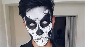 grim reaper makeup tutorial maquiagem de caveira sfx makeup