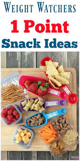 Weight Watchers 1 Point Snack Ideas Portion Size Tricks