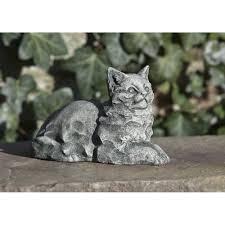 cat garden statue. Cleo Cat Garden Statue