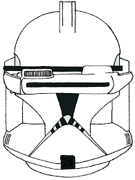 Star Wars Clone Coloring Pages Printable Star Wars Clone Coloring