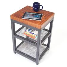 computer coffee table butcher block coffee table with under wire shelves high tech computer tablet a black cup computer desk coffee table