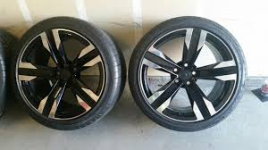 RARE! OEM ZL1 Black Machine Faced wheels and possibly my 10 spokes ...