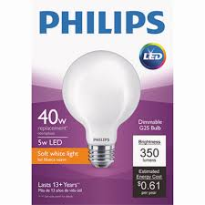 Ebay Light Bulbs Details About Philips G25 Medium Led Decorative Light Bulb