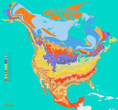 Growing Zone Chart Usa 41 Thrilling Climate Zones Of Mexico