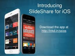 Slede Share Introducing Slideshare For Ios