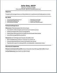 Phlebotomist Resume 11 Unusual Design Phlebotomy 9 Includes Skills