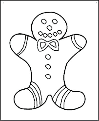 Ginger Bread Coloring Pages Gingerbread Man Coloring Pages Colouring