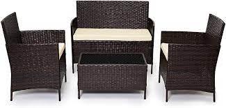 evre rattan garden furniture set