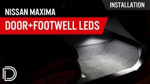 Door Light Leds For 2007 2018 Nissan Maxima Pair