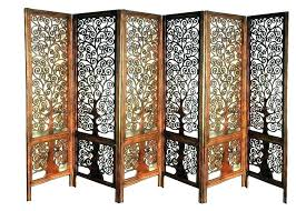 outdoor wooden screen oriental folding room divider wood privacy panels chinese