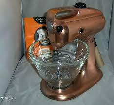 bowl copper bowl for kitchenaid mixer limited edition stand home 3 c