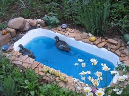 creative ideas to recycle old bathtubs