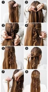 Hair Vytvořte Si Trendy účesy Krok Za Krokem Marie Claire
