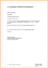 Employment Certificate Sample For Visa Application Best Samples
