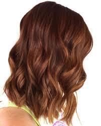 Auburn Hair Color With Caramel Highlights