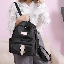 Creative Wild <b>Backpack</b> Oxford Cloth Classic Black <b>Temperament</b> ...