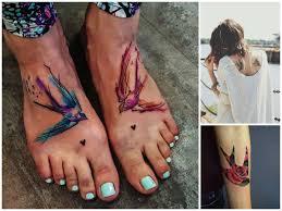 Tatuaggi Con Le Rondini Le Idee Più Belle Da Copiare Pourfemme